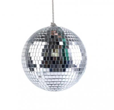 Disco mirror ball prom decoration