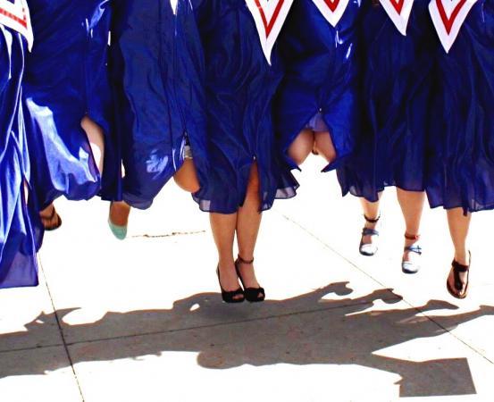 jumping grads