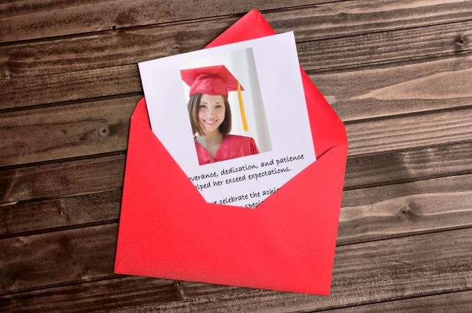 graduation announcement etiquette and wording
