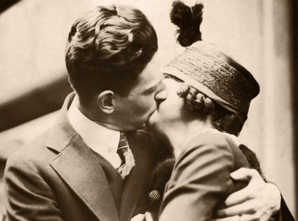 Couple Kissing / CIRCA 1920'S