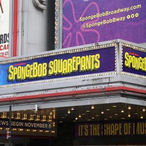 'SpongeBob SquarePants' Theatre Marquee Unveiling