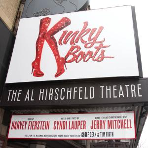 'Kinky Boots' - Theatre Marquee