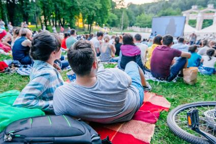 Catch an outdoor movie