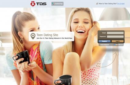 Screenshot of TDS website