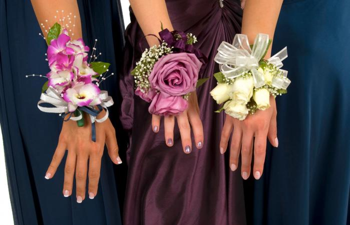 bracelet corsage for prom