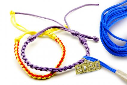 2020 Charm bracelet with tassel