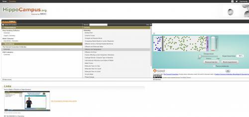 Screenshot of hippocampus website