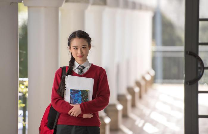Campus girl student