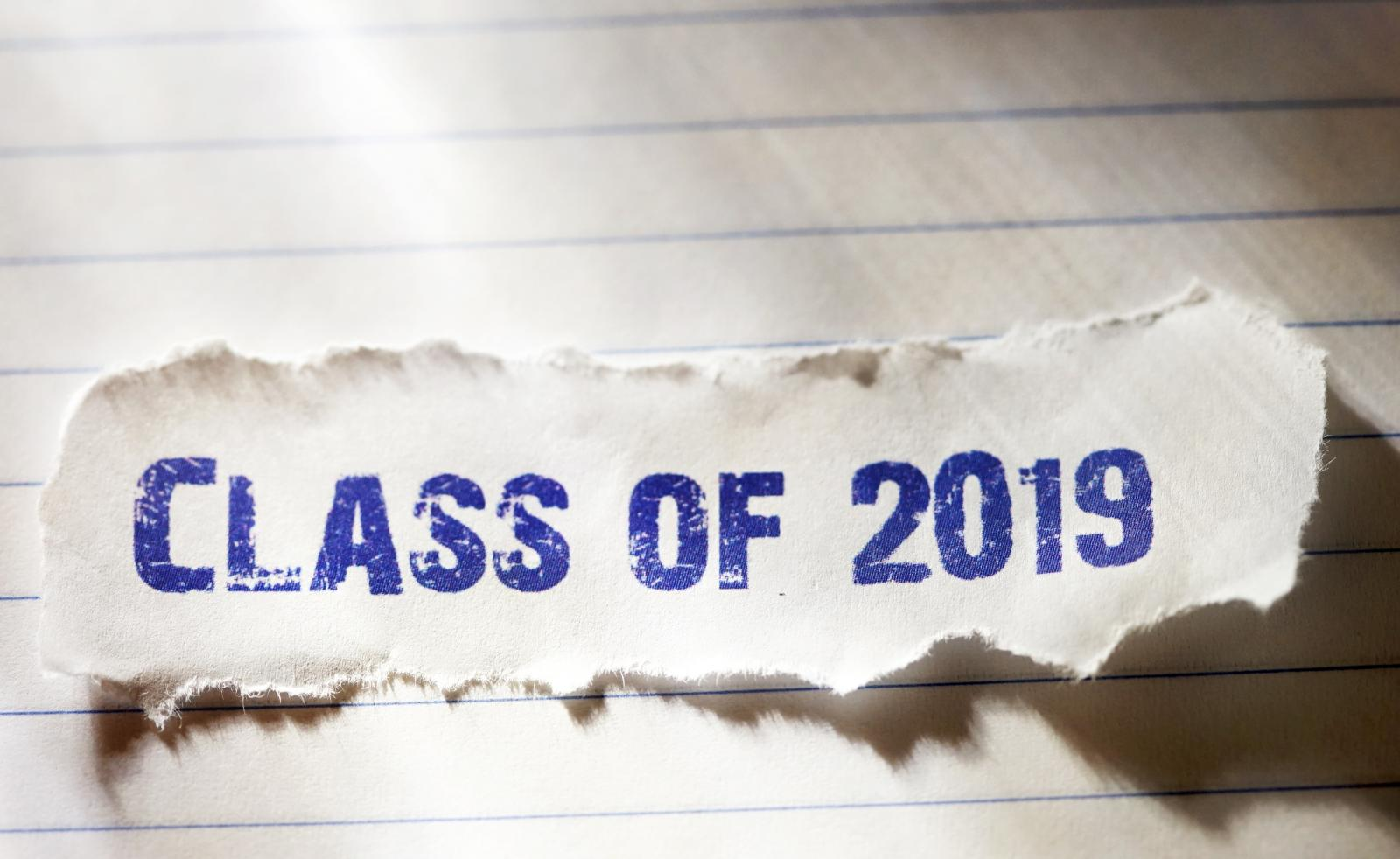 Paper with Class of 2019
