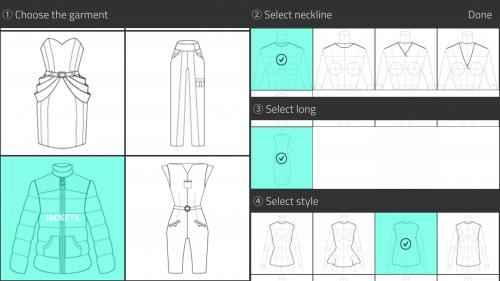 Fashion Design App Screenshot on Android Phone