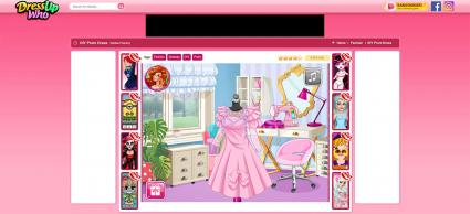 Screenshot of DIY Prom Dress Game