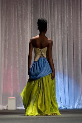 Velvet curtain backdrop