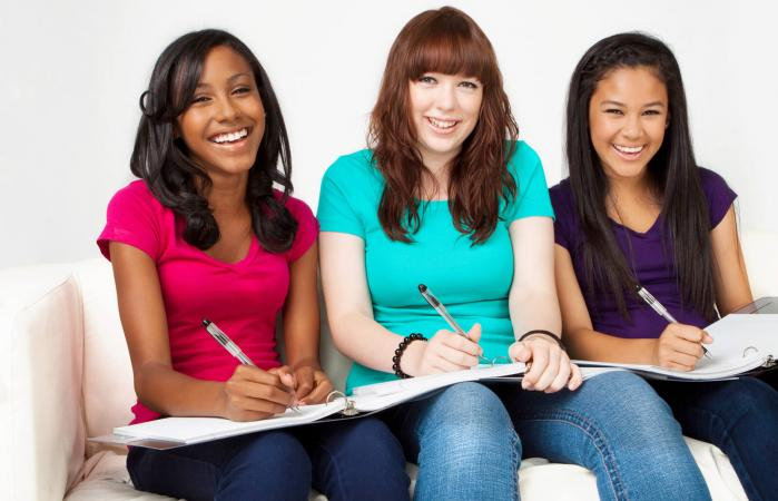 Teenagers and homework