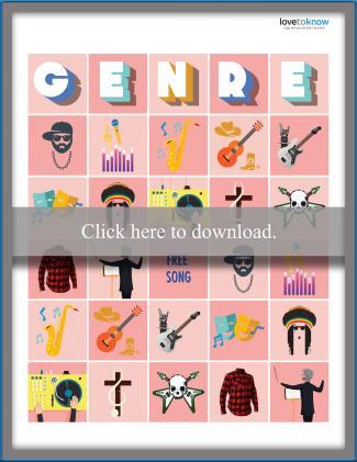 Music Genre Bingo
