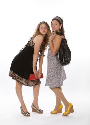 teens in dresses