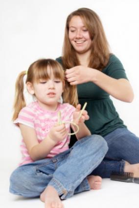 a dpf teen baby babysitting