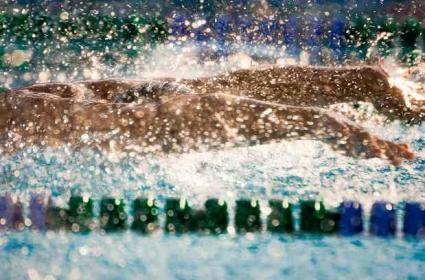 Swim teams in high school are a big deal