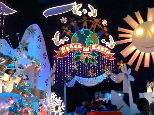 its a small world ride - Christmas Around The World Decorations