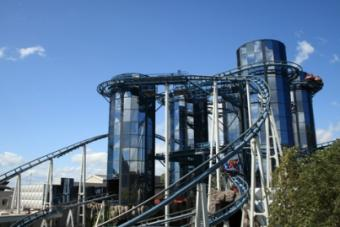 roller coaster at Europa Park