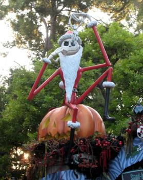 Nightmare Before Christmas at Disneyland