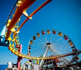 Pictures of Amusement Park Rides