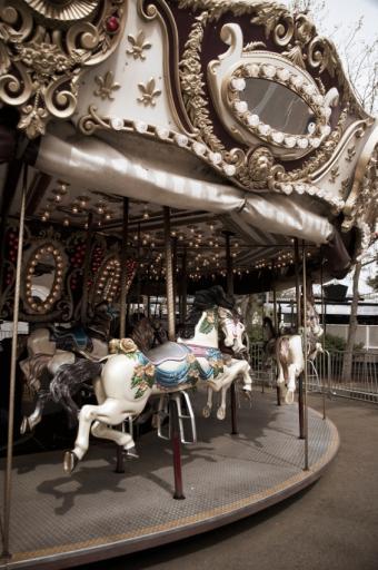 Vintage Amusement Park Rides
