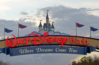 Disney World Ride List
