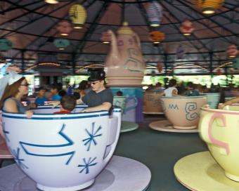 Disney World Mad Tea Party Ride