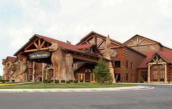 Staying at the Great Wolf Lodge