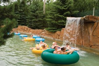 Adventure river at Noah's Ark Water Park