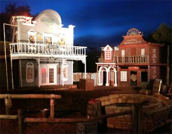 Visiting Frontier City in Oklahoma