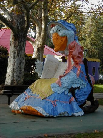 Mother Goose at Fairytale Town