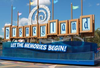 Visiting Disneyland Theme Park
