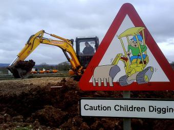 Diggerland Construction Themed Park