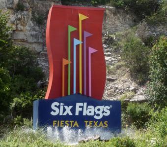 Visiting the Fiesta Texas Theme Park