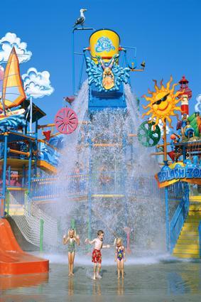 Soak City Cedar Point Splash Zone