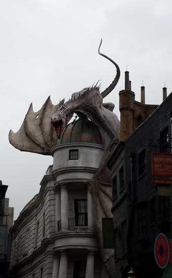 Diagon Alley: Dragon