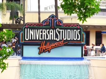 Visiting Universal Studios in Hollywood