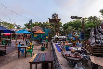 Harambe Market, a quick-service food and beverage location at Disney's Animal Kingdom