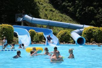 Pool fun at Wetlands Water Park