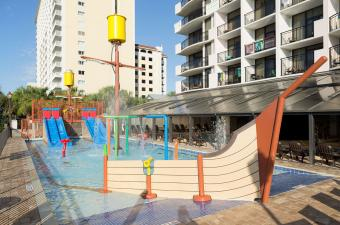 The Breakers Resort Pirate Ship Pool