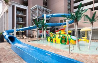 Long Bay Resort Water Slide