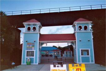 Sandcastle Water Park entrance