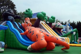 Cape Cod Inflatable Park Slides