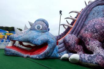 Cape Cod Inflatable Park dragon