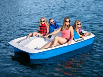 Pedal Boats at Water Park