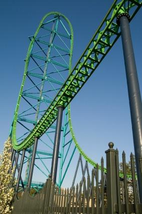 kingda ka roller coaster at Six Flags