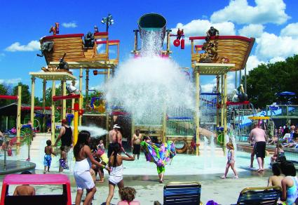Tadpole Bay at Noah's Ark Water Park
