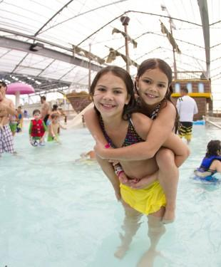 Having fun at South Padre Island Schlitterbahn