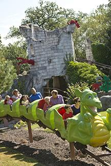Legoland dragon rides